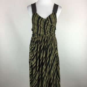 New Romantics by Free People striped dress Sz M